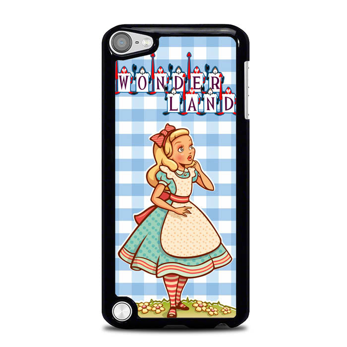 alice in wonderland cartoon L0947 iPod Touch 5 Case