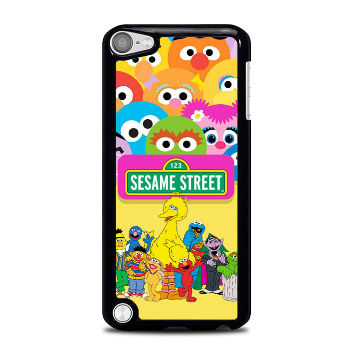 sesame street team friends L0998 iPod Touch 5 Case