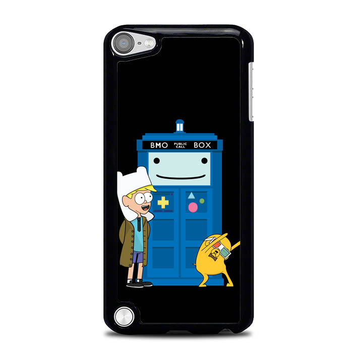 Adventure Time Doctor Who Gravity Falls L1121 iPod Touch 5 Case