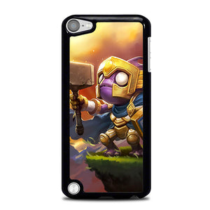 Adventure Time Hearthstone Silver Hand Murloc L1139 iPod Touch 5 Case