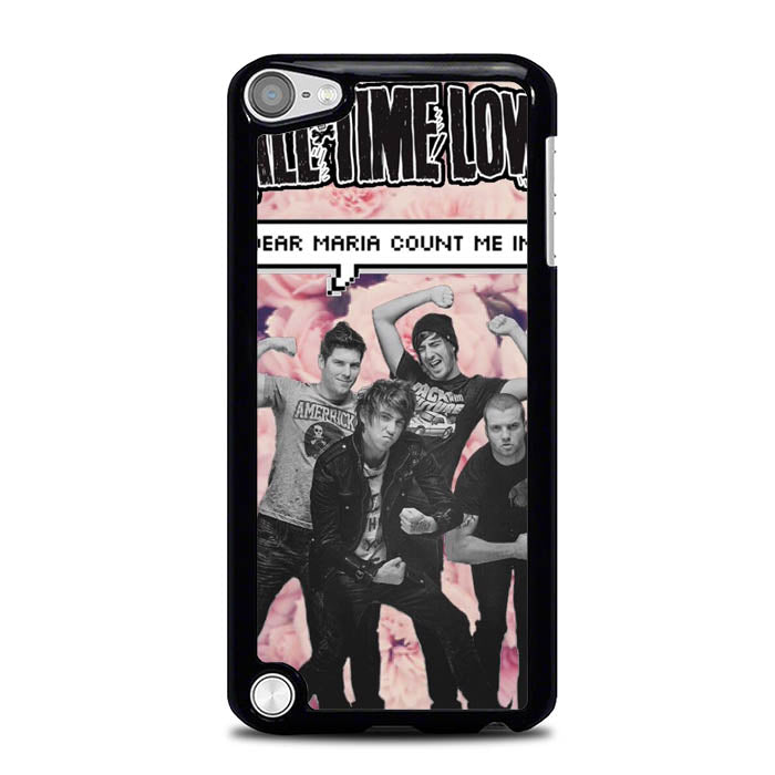 All Time Low Dear Maria L1206 iPod Touch 5 Case