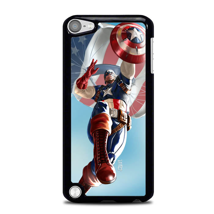 Captian America The First Avenger L1222 iPod Touch 5 Case