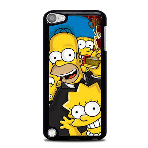 The Simpsons Family L1301 iPod Touch 5 Case