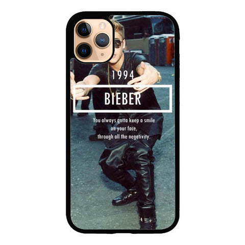 1994 Justin Bieber Believe Smile L1563 iPhone 11 Pro Case