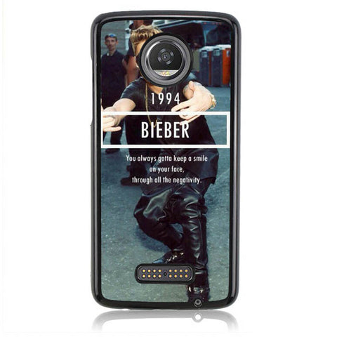 1994 Justin Bieber Believe Smile L1563 Moto Z2 Play Case