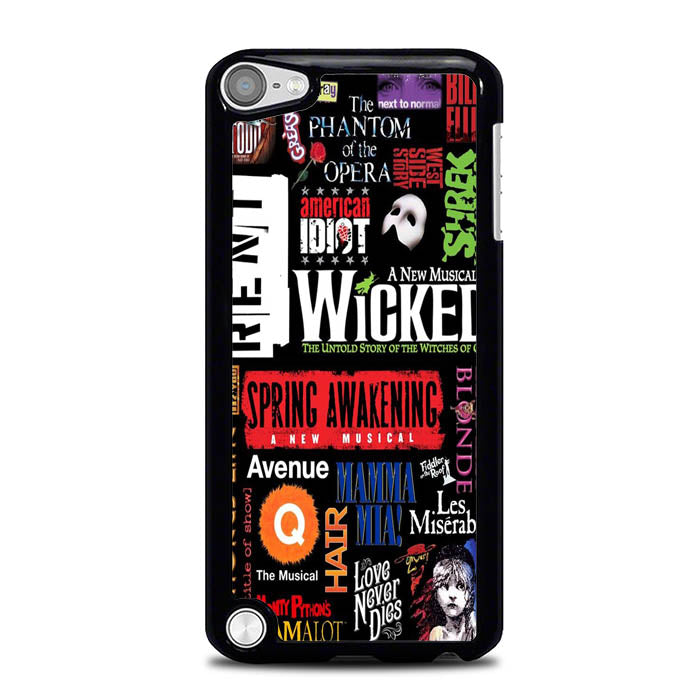 Broadway Musical Collage L1879 iPod Touch 5 Case