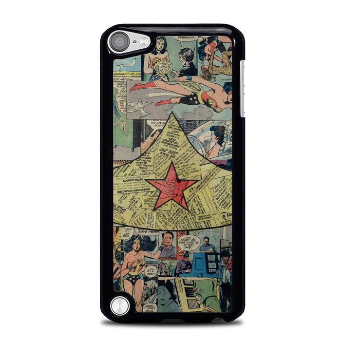 Wonder Woman Collage L2527 iPod Touch 5 Case