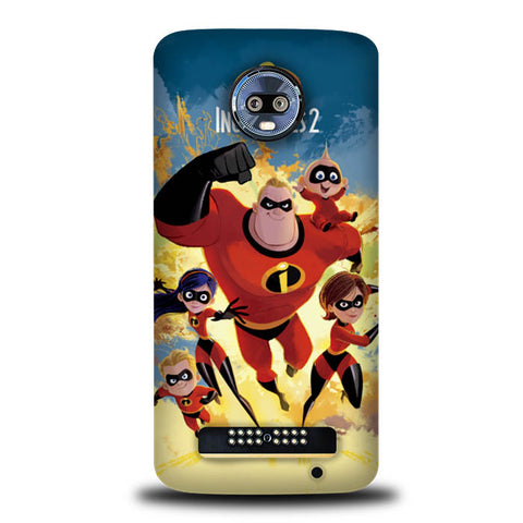The Incredibles 2 Disney L2664 Motorola Moto Z3 , Moto Z3 Play Case