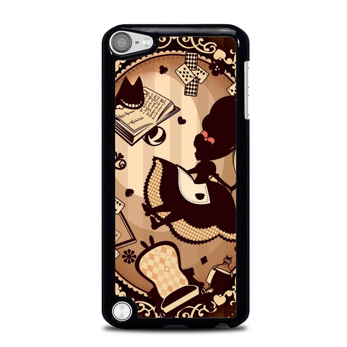 Alice in Wonderland Brown L2864 iPod Touch 5 Case