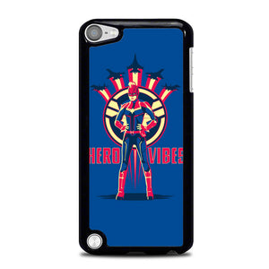 Captain Marvel Wallpaper L2948 iPod Touch 5 Case