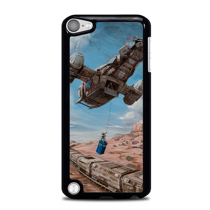 Time Job Firefly Tardis Doctor Who L3040 iPod Touch 5 Case