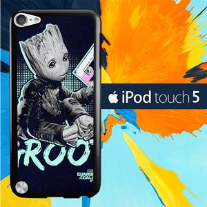 Cute Baby Groot L3112 iPod Touch 5 Case