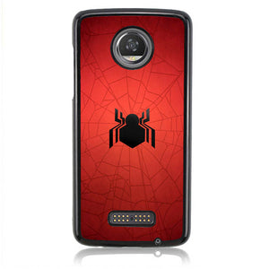 Spiderman Homecoming Logo L3179 Moto Z2 Play Case