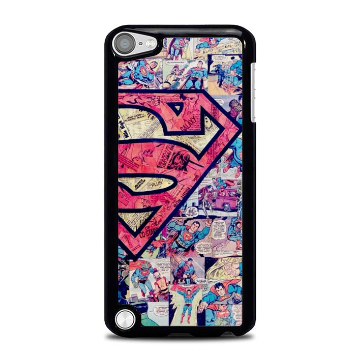 Superman Comic Wallpaper L3193 iPod Touch 5 Case