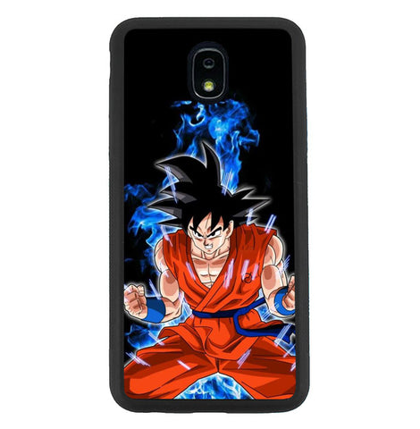 Goku Dragonball Samsung Galaxy J7 2018, J7 V 2nd Gen, J7 Aero, J7 Star, J7 Top, J7 Crown, J7 Aura, J7 Refine, J7 Eon Case SS3292