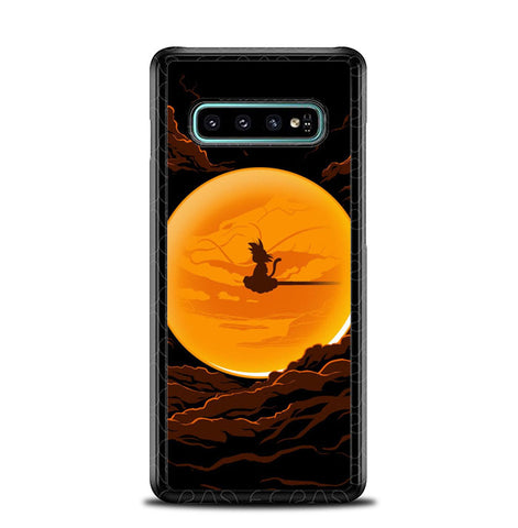 Dragonball In The Moon Samsung Galaxy S10 Plus Case SS3116