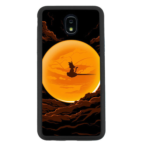Dragonball In The Moon Samsung Galaxy J7 2018, J7 V 2nd Gen, J7 Aero, J7 Star, J7 Top, J7 Crown, J7 Aura, J7 Refine, J7 Eon Case SS3116