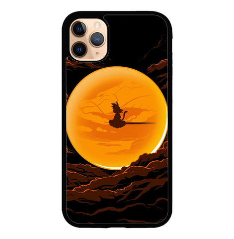 Dragonball In The Moon iPhone 11 Pro Case SS3116