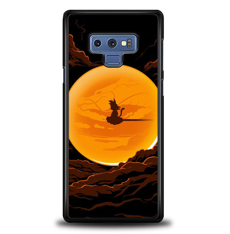 Dragonball In The Moon Samsung Galaxy Note 9 Case SS3116