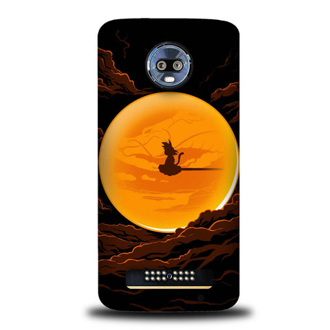 Dragonball In The Moon Motorola Moto Z4, Moto Z4 Play Case SS3116