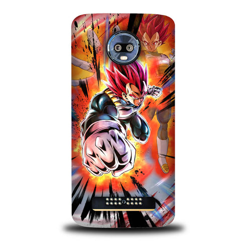 Dragonball Z Legend Supersaiyan God Vegeta Motorola Moto Z4, Moto Z4 Play Case SS3114