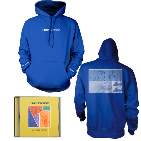 Like Pacific 'In Spite of Me' CD + Hoodie bundle