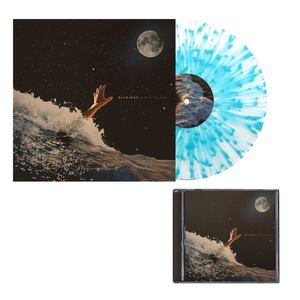 Bearings 'Blue In The Dark' CD + Clear w/ Heavy Sea Blue Splatter Vinyl Bundle