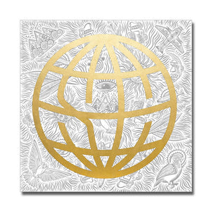 State Champs 'Globe' Wall Flag