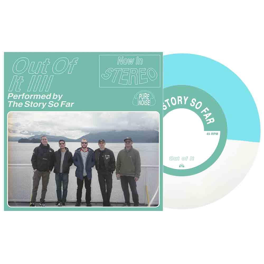 "The Story So Far 'Out Of It' 7"" Vinyl (Half Blue/White)"