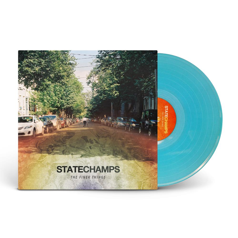 State Champs 'Finer Things' LP (Trans Electric Blue)