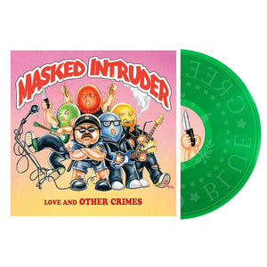 Masked Intruder 'Love and Other Crimes' LP (Kelly Green)