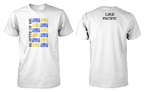 Like Pacific 'In Spite of Me' White T-Shirt