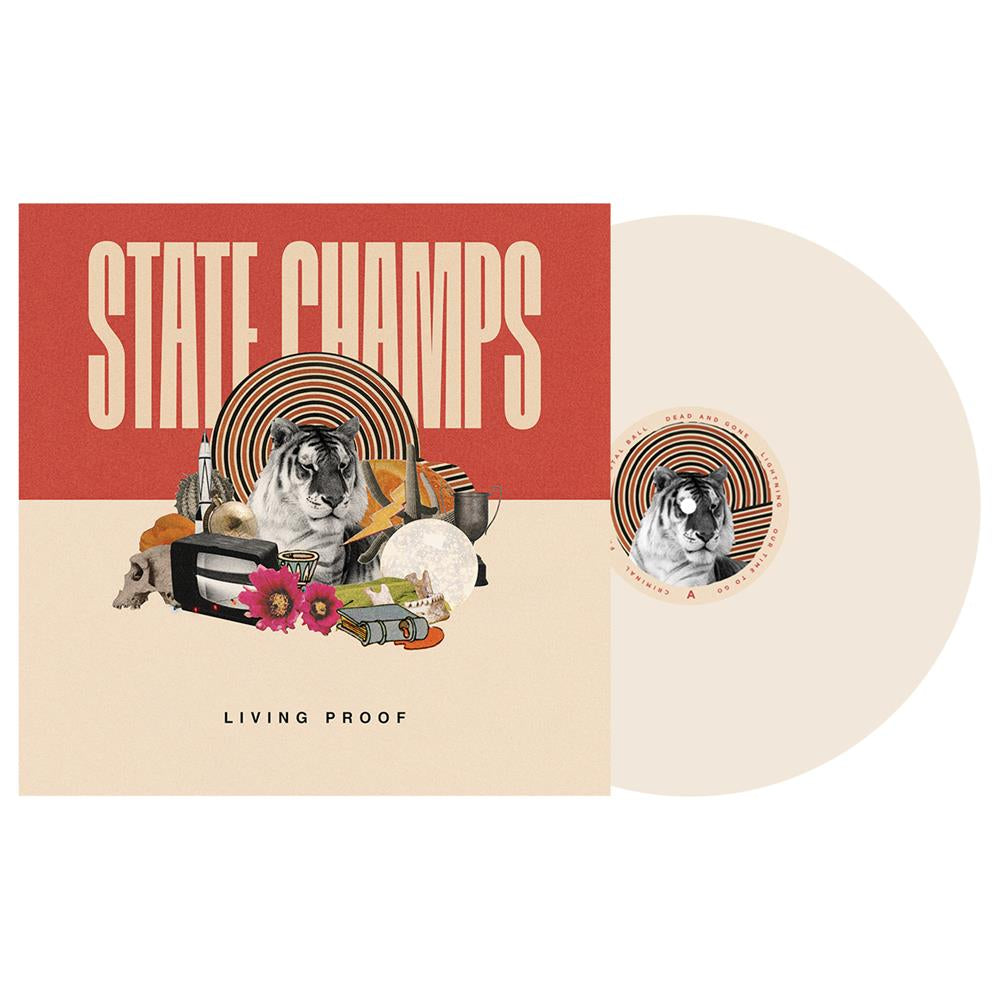 State Champs 'Living Proof' LP (BONE)