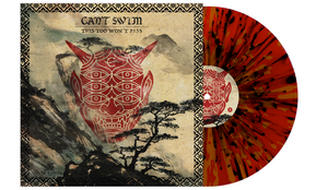 Can't Swim 'This Too Won't Pass' Gold / Red w/ heavy black splatter Vinyl (PN 1)