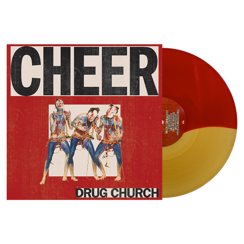 Drug Church 'Cheer' Vinyl (PN Webstore Exclusive) Half Red / Half Beer