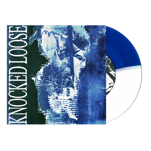 Knocked Loose 'Mistakes Like Fractures' 7'' (Half Royal Blue / Half White)