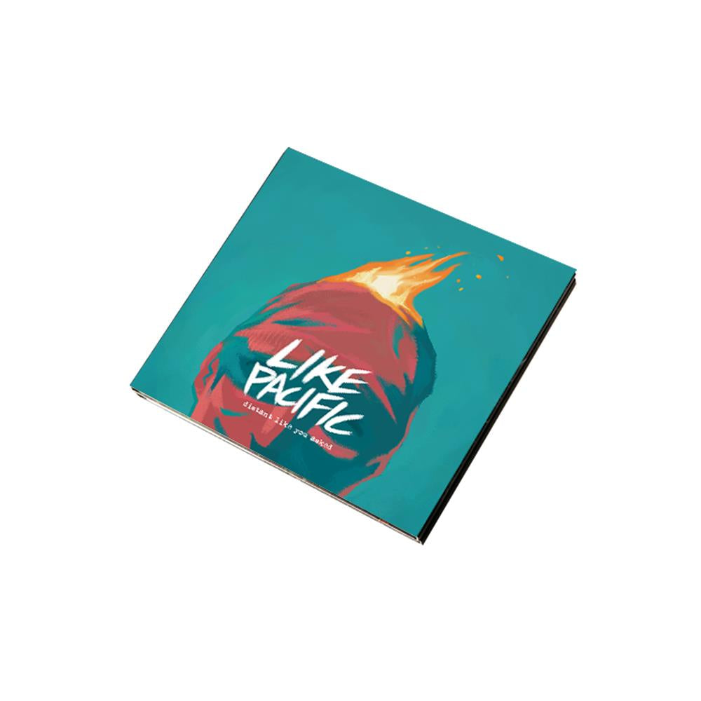 Like Pacific 'Distant Like You Asked' CD