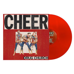 Drug Church 'Cheer' Vinyl - Blood Red