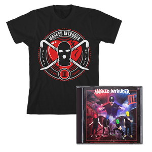 Masked Intruder 'III' CD + T-Shirt