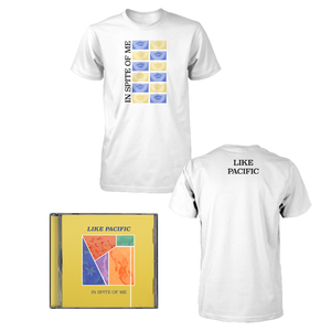 Like Pacific 'In Spite of Me' CD + T-Shirt bundle