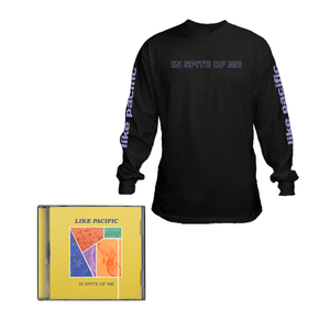 Like Pacific 'In Spite of Me' CD + Longsleeve  bundle