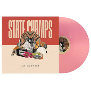 State Champs 'Living Proof' Vinyl - Baby Pink