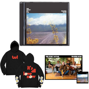 The Story So Far 'Proper Dose' CD BUNDLE 3 (CD + Hoodie + Poster + Sticker)