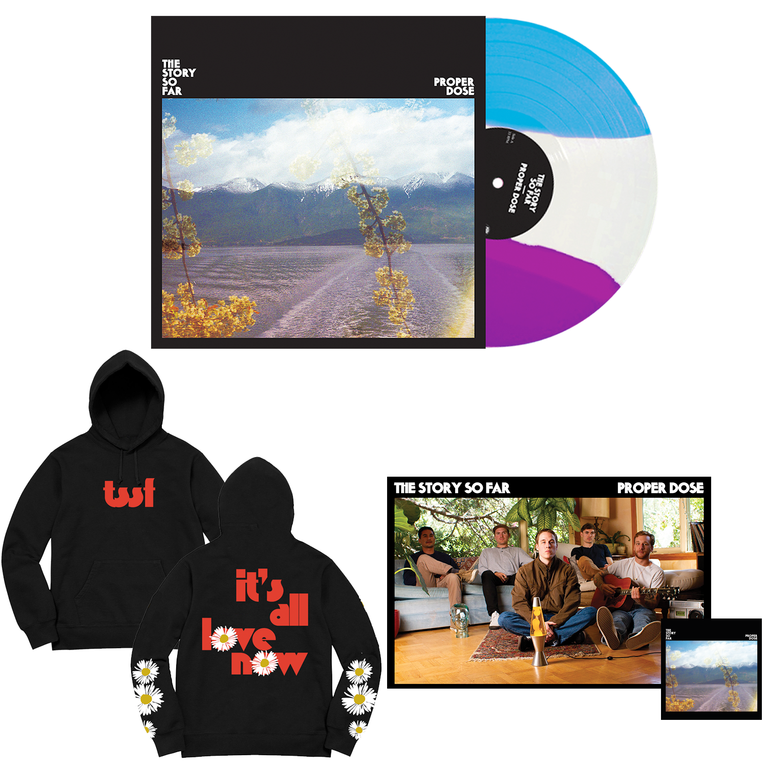 The Story So Far 'Proper Dose' VINYL BUNDLE 3 (PN Webstore Exclusive Vinyl 2 + Hoodie + Poster + Sticker)