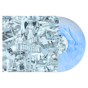 Year of the Knife 'Ultimate Aggression' LP (White w/ Baby Blue Galaxy)