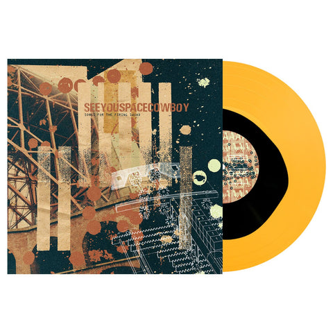 SeeYouSpaceCowboy 'Songs for the Firing Squad' LP (Black inside Orange Crush)