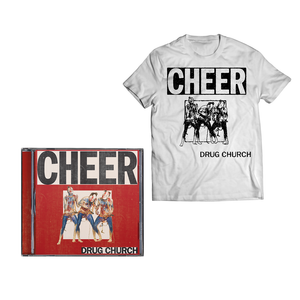 Drug Church 'Cheer' CD + T-Shirt bundle