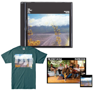 The Story So Far 'Proper Dose' CD BUNDLE 2 (CD + Shirt (Teal) + Poster + Sticker)