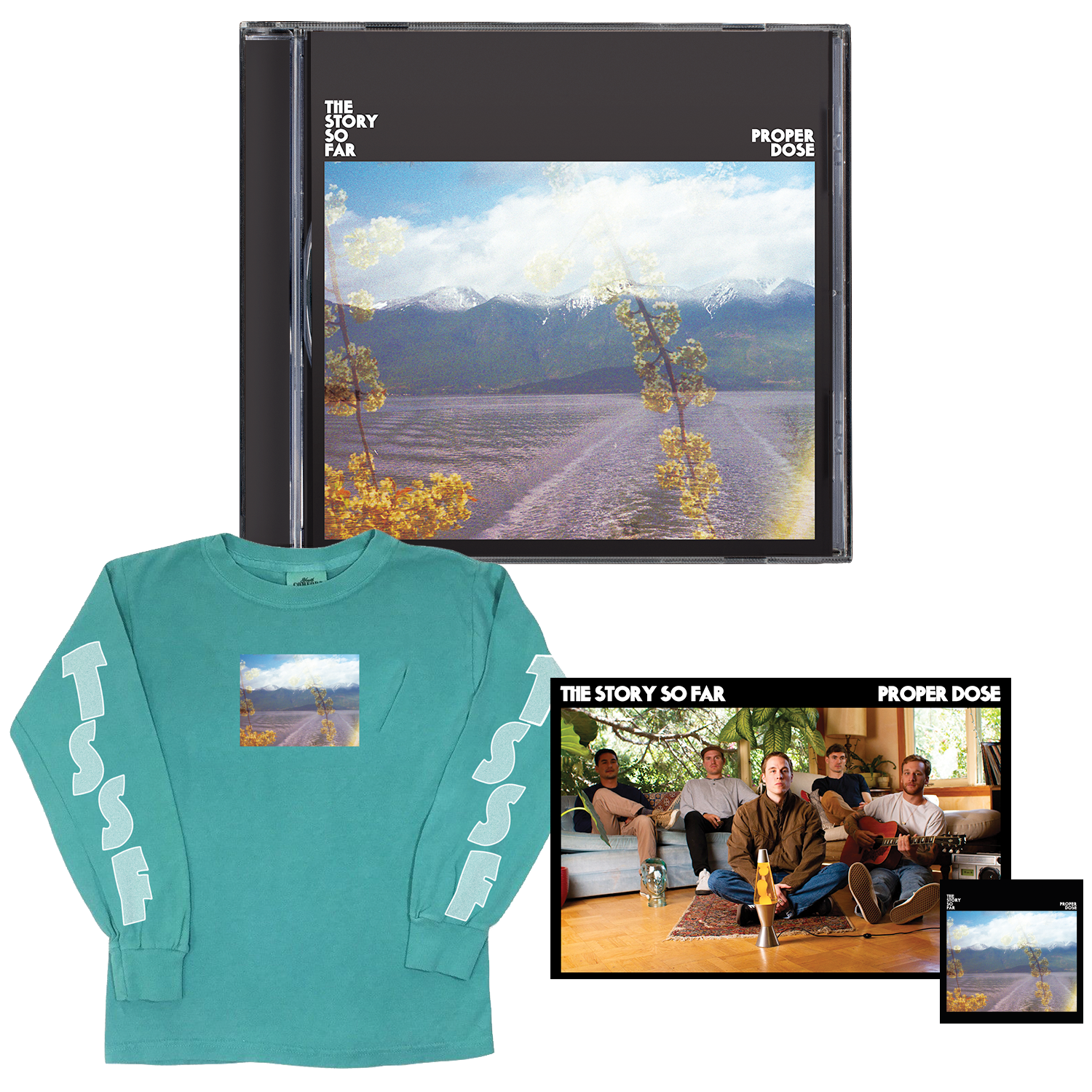 The Story So Far 'Proper Dose' CD BUNDLE 4 (CD + Long Sleeve + Poster + Sticker)