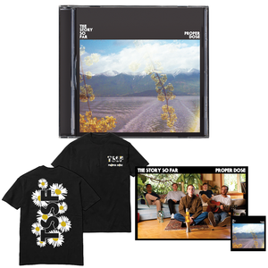 The Story So Far 'Proper Dose' CD BUNDLE 1 (CD + Shirt (Black) + Poster + Sticker)